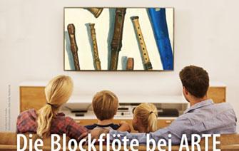 Die Blockflöte bei ARTE